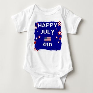 July 4th (Independence Day) Baby Bodysuit