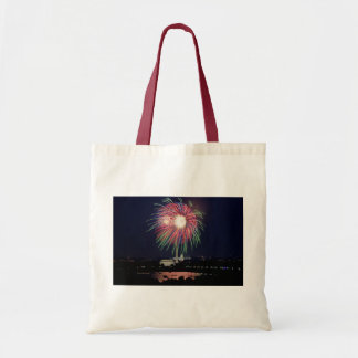 July 4th Independence Day fireworks Tote Bag