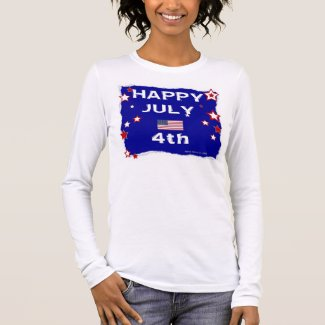 July 4th (Independence Day) Long Sleeve T-Shirt