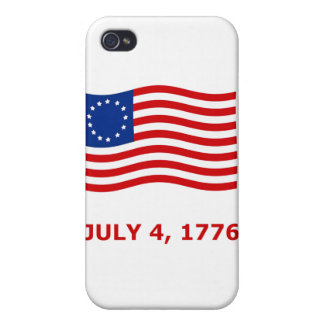 July 4th, Independence Day T-Shirts & Gifts iPhone 4 Covers