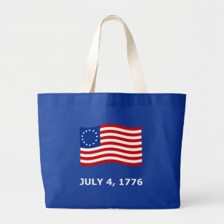 July 4th, Independence Day T-Shirts & Gifts Large Tote Bag