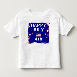 July 4th (Independence Day) Toddler T-shirt