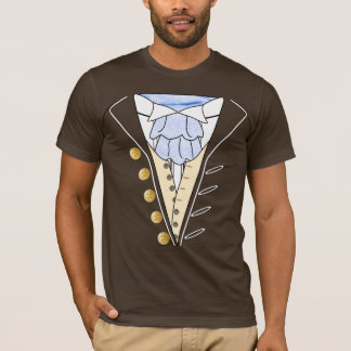 July 4th Independence Day Tuxedo Cravat T Shirt 2