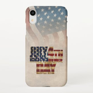 July 4th Independence Day V2.0 2020 iPhone XR Case
