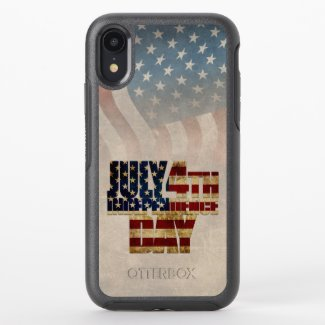July 4th Independence Day V2.0 2020 OtterBox Symmetry iPhone XR Case