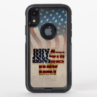 July 4th Independence Day V2.0 2020 OtterBox Commuter iPhone XR Case