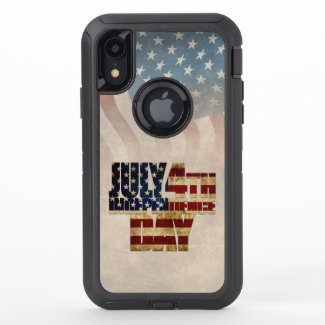 July 4th Independence Day V2.0 2020 OtterBox Defender iPhone XR Case