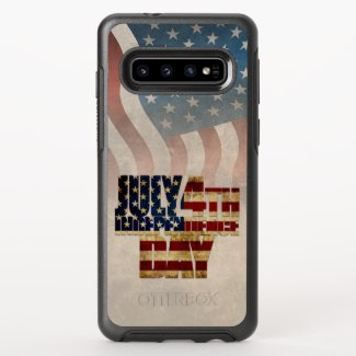July 4th Independence Day V2.0 2020 OtterBox Symmetry Samsung Galaxy S10 Case