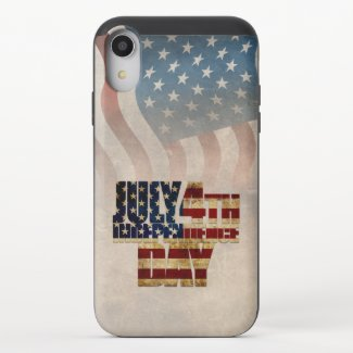 July 4th Independence Day V2.0 2020 iPhone XR Slider Case