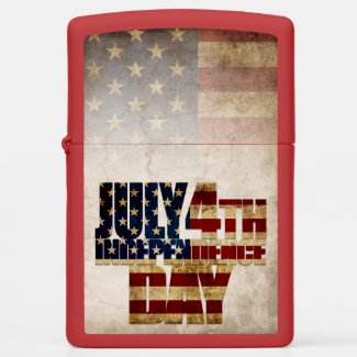 July 4th Independence Day V2.0 Zippo Lighter