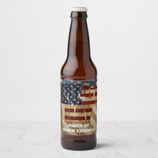 July 4th Independence Day V3.0 2020 Beer Bottle Label