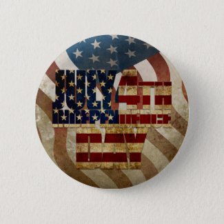 July 4th Independence Day V3.0 2020 Button
