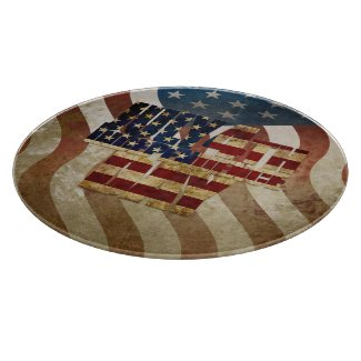 July 4th Independence Day V3.0 2020 Cutting Board