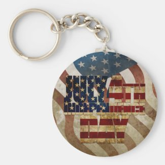July 4th Independence Day V3.0 2020 Keychain