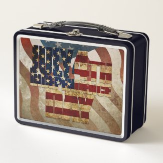 July 4th Independence Day V3.0 2020 Metal Lunch Box