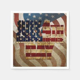 July 4th Independence Day V3.0 2020 Napkins