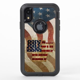 July 4th Independence Day V3.0 2020 OtterBox Defender iPhone XR Case