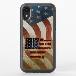 July 4th Independence Day V3.0 2020 OtterBox Symmetry iPhone XR Case