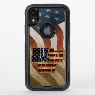 July 4th Independence Day V3.0 2020 OtterBox Commuter iPhone XR Case