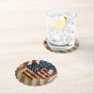 July 4th Independence Day V3.0 2020 Paper Coaster