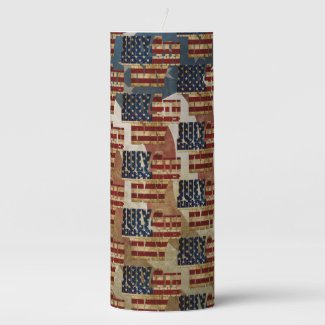 July 4th Independence Day V3.0 2020 Pillar Candle