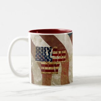 July 4th Independence Day V3.0 2020 Two-Tone Coffee Mug