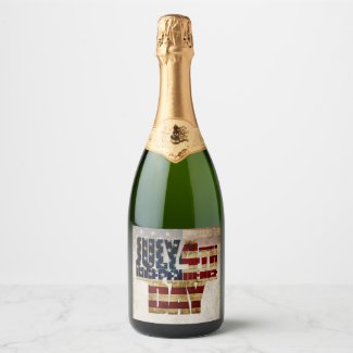 July 4th Independence Day V 2.0 2020 Champagne Label