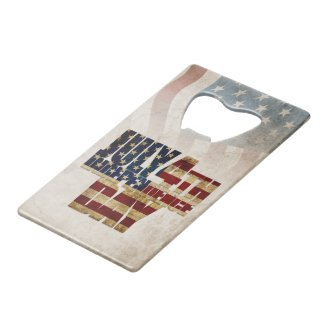 July 4th Independence Day V 2.0 2020 Credit Card Bottle Opener