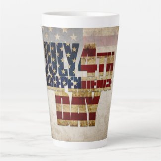 July 4th Independence Day V 2.0 2020 Latte Mug