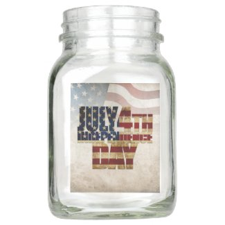 July 4th Independence Day V 2.0 2020 Mason Jar