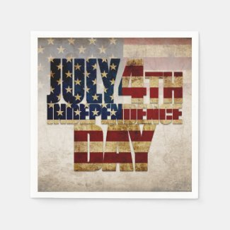 July 4th Independence Day V 2.0 2020 Napkins