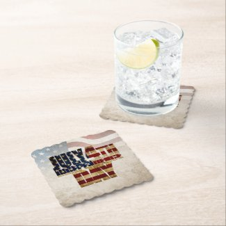 July 4th Independence Day V 2.0 2020 Paper Coaster