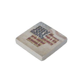 July 4th Independence Day V 2.0 2020 Stone Magnet