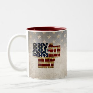 July 4th Independence Day V 2.0 2020 Two-Tone Coffee Mug