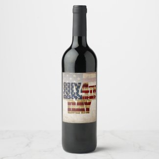 July 4th Independence Day V 2.0 2020 Wine Label