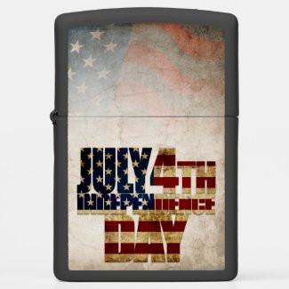 July 4th Independence Day V 2.0 2020 Zippo Lighter
