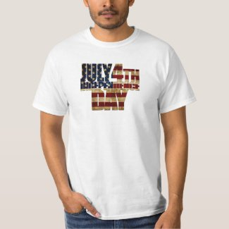 July 4th Independence Day V 2.0 T-Shirt