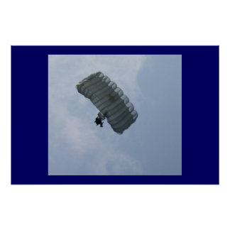 July 4th Jump at Fort Bragg Poster