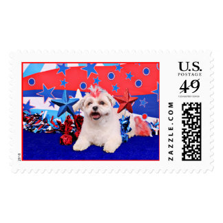 July 4th - Lhatese - Snickers Stamp