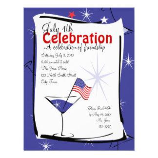 July 4th Martini Invite