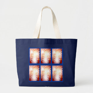 July 4th or Bastille Day tote