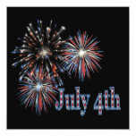 July 4th personalized announcement