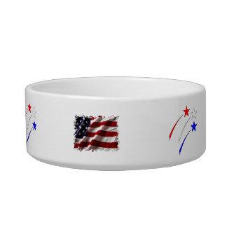 July 4th cat bowl