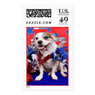 July 4th - Pitbull X - Opie Stamp