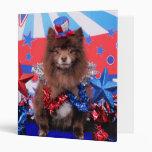 July 4th - Pomeranian - Fred Binder