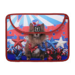 July 4th - Pomeranian - Fred Sleeves For MacBooks
