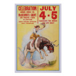 July 4th Rodeo, 1930 Poster