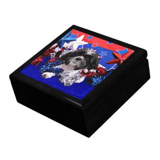 July 4th - Shih Tzu - Sadie Gift Boxes