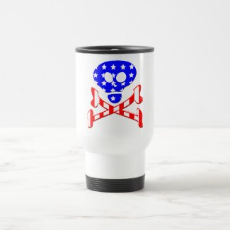July 4th Travel Mug