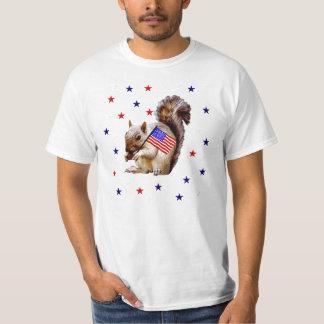 July 4th Squirrel T-Shirt